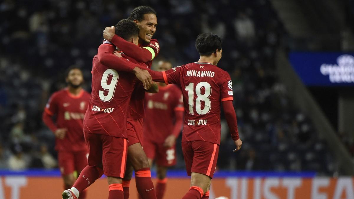 Liverpool Porto Tecatito