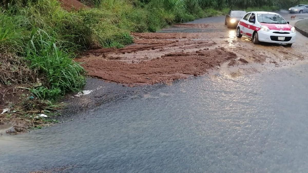 Veracruz: Lluvia afecta a municipios con inundaciones y deslaves