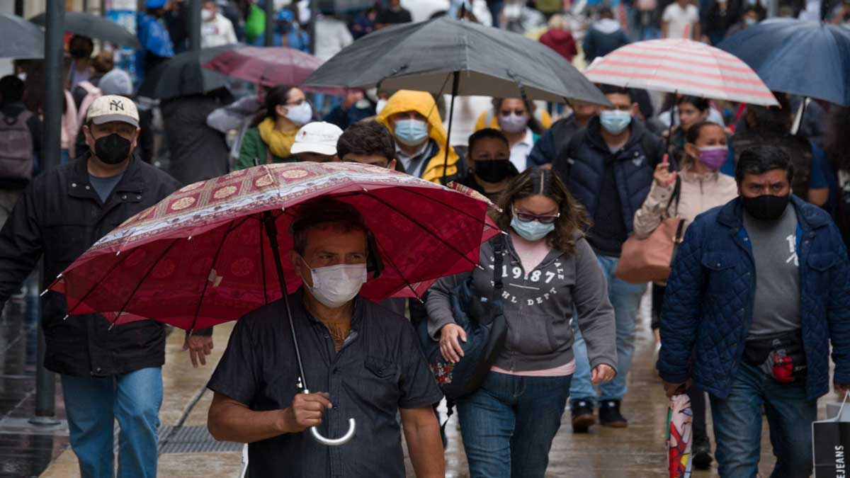 Clima en México: pronostican lluvias fuertes en varios estados del país