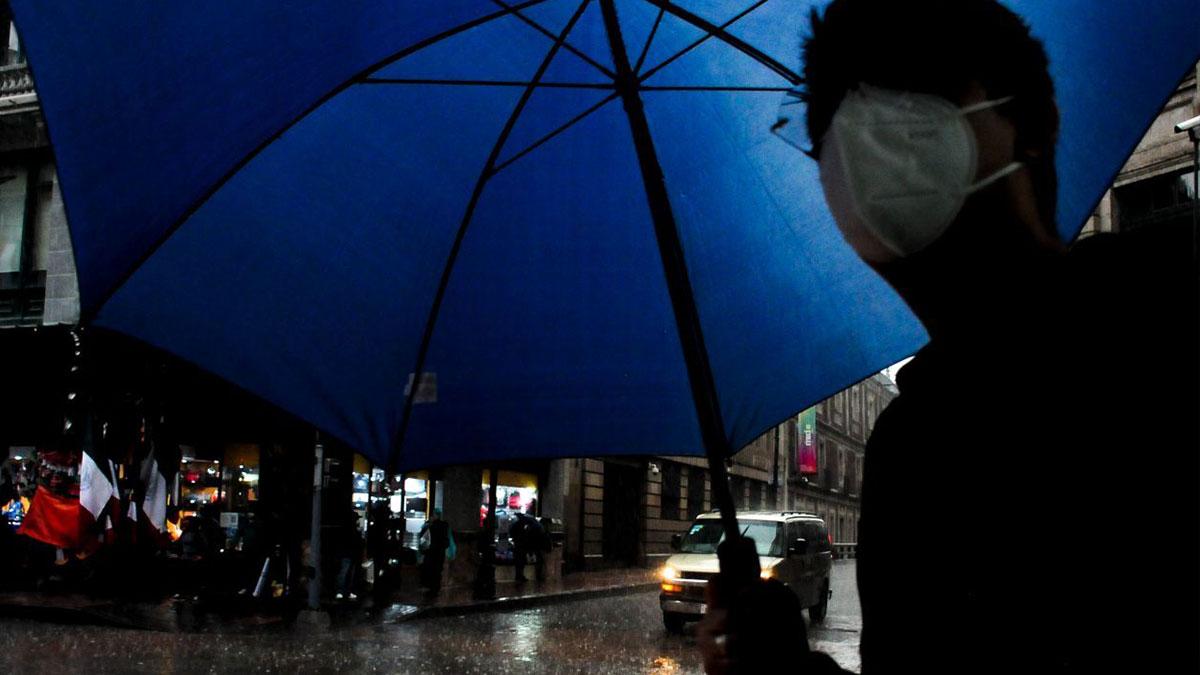 Lluvia afecta alcaldías de la Ciudad de México