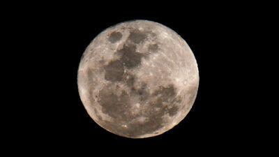 Difunden foto de la Luna con mayor resolución de la historia