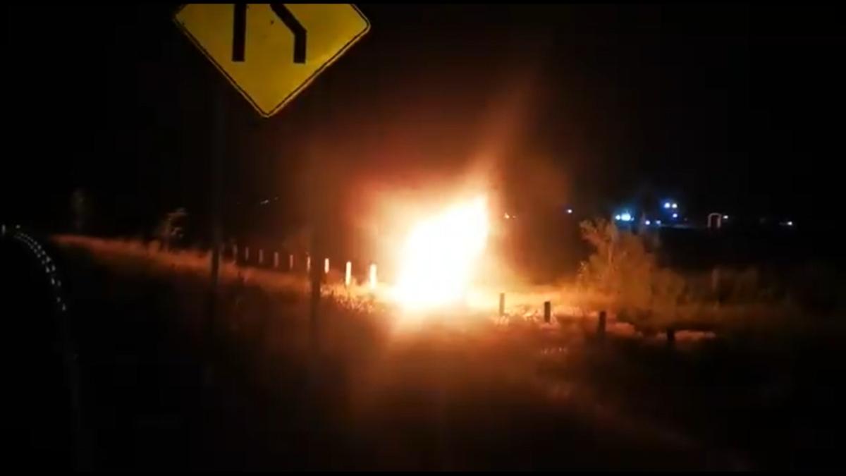 Macrolibramiento de Querétaro: Reportan fuga de combustible