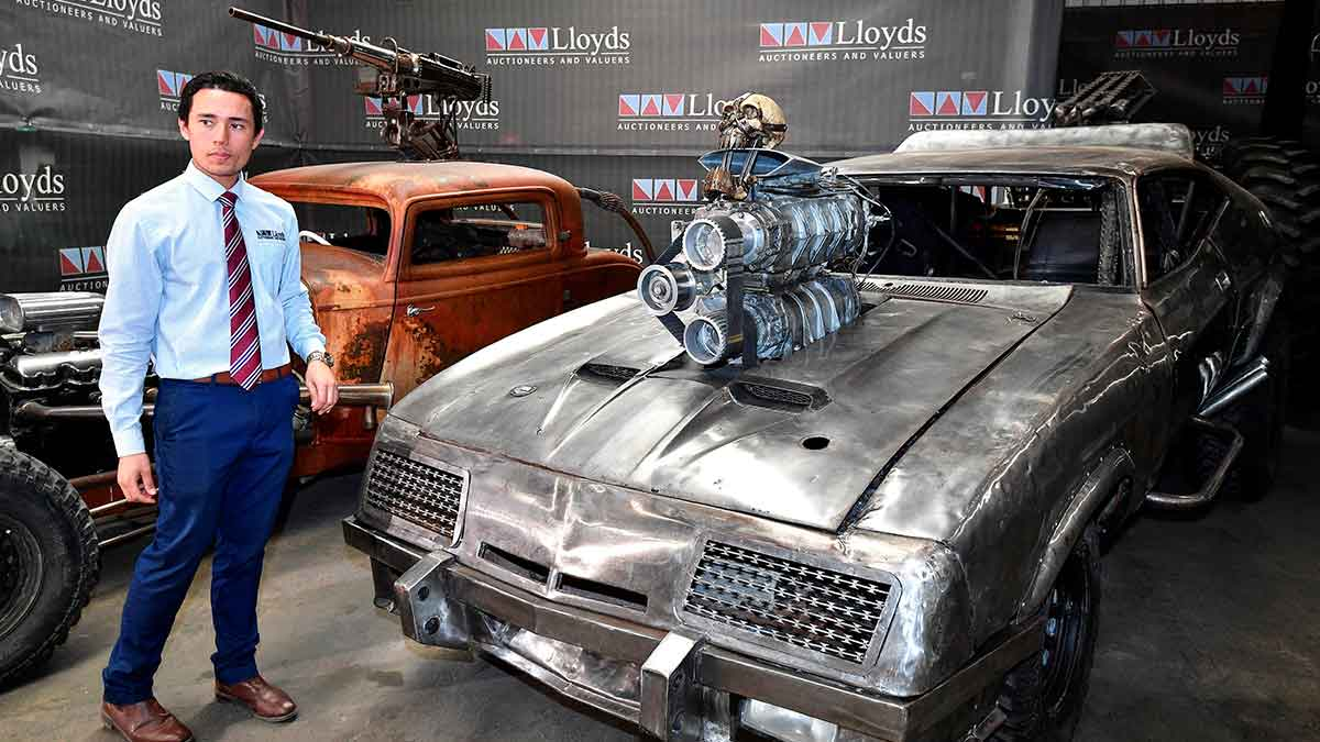 Mad Max: Furia sobre ruedas; subastarán 13 autos de la película