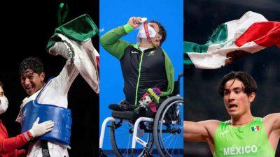 medallas México Paralímpicos