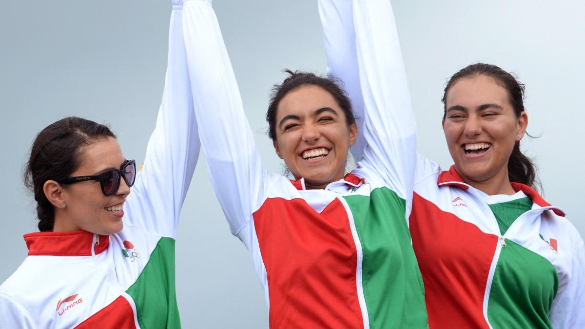 Mexicanas Plata Mundial Tiro Con Arco