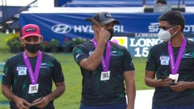 Mexicanos se quedan con la plata en Mundial de Tiro con Arco