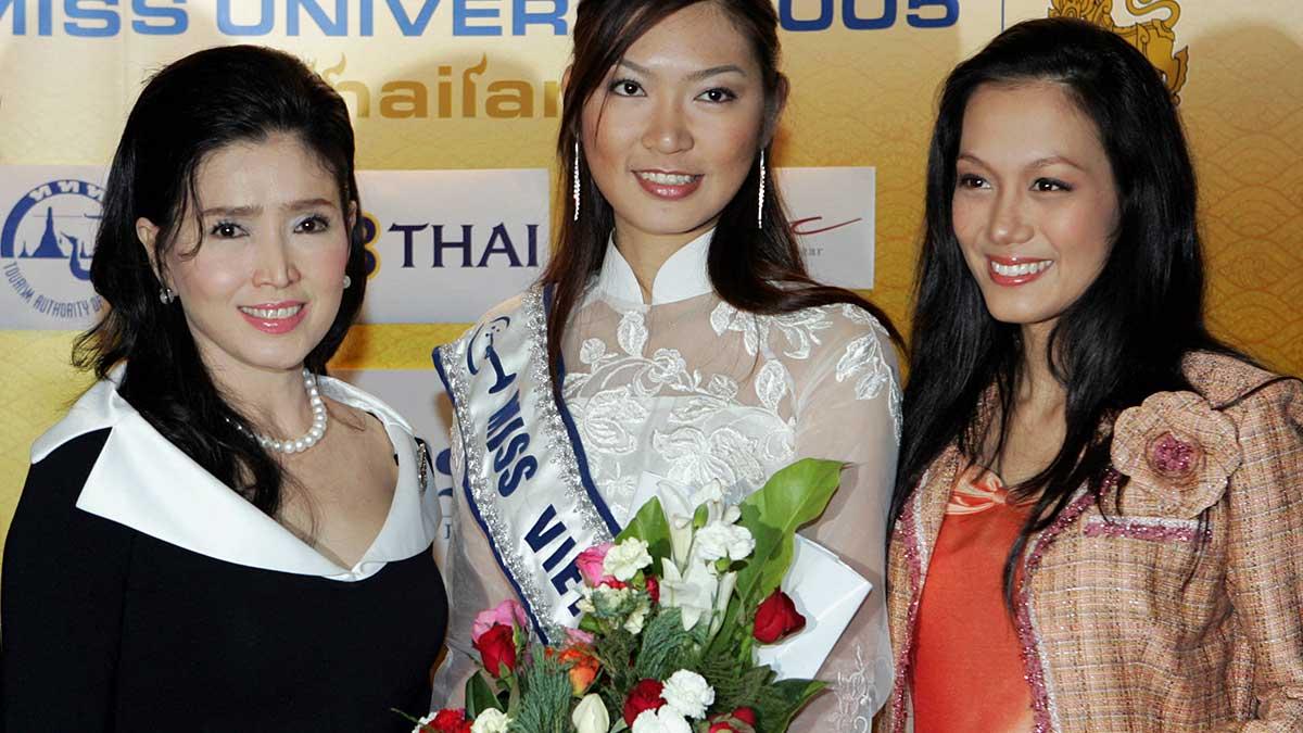 Apasra Hongsakula, mujer de Tailandia y Miss Universo en 1965