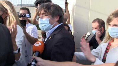 Puigdemont Cataluña liberado