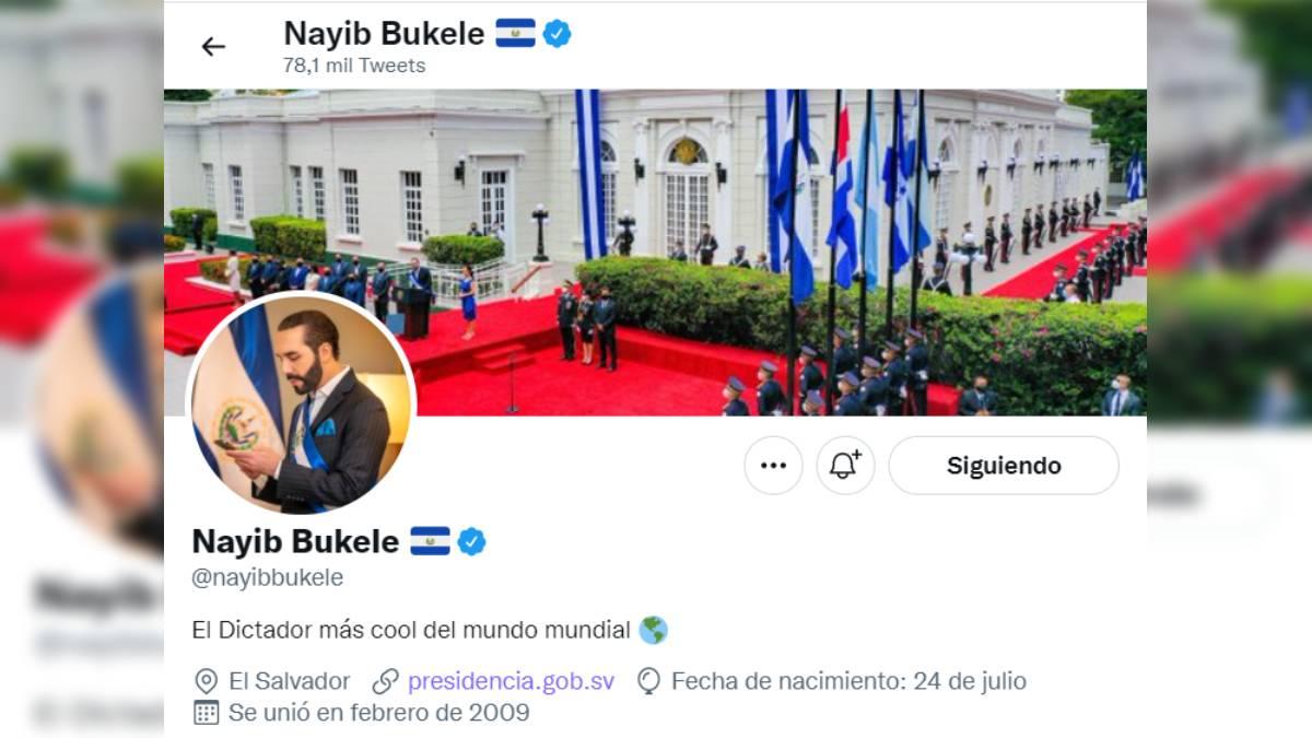 Bukele dictador cool
