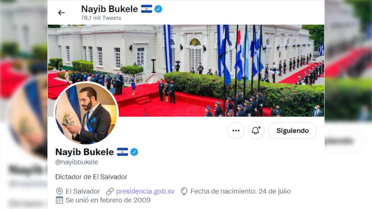 Bukele dictador El Salvador