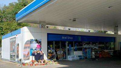 Alemania gasolinero cubrebocas