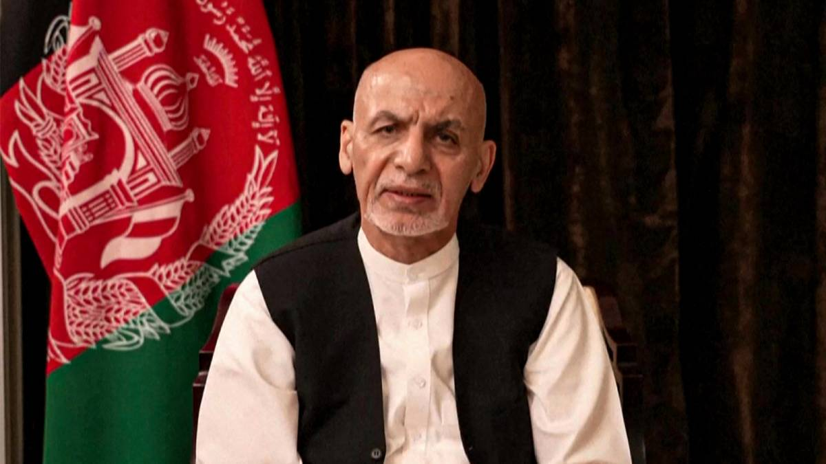 Ghani Afganistán abandonar