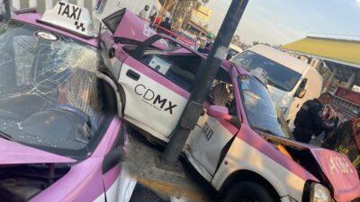 Tráiler taxi Iztacalco