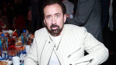 Nicolas Cage Borracho