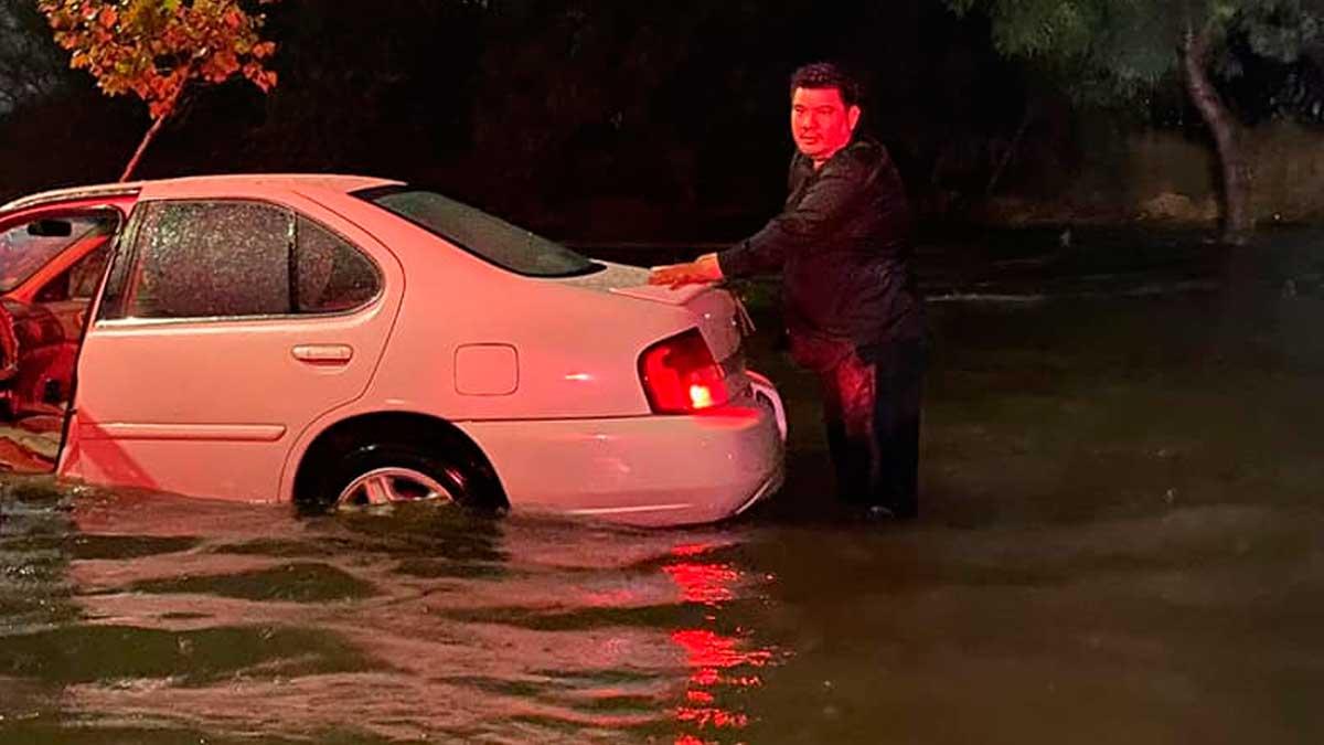Nuevo León: tormenta eléctrica genera afectaciones en varios municipios