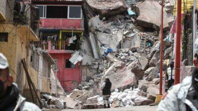 Cerro del Chiquihuite: damnificados proponen zona para reubicación