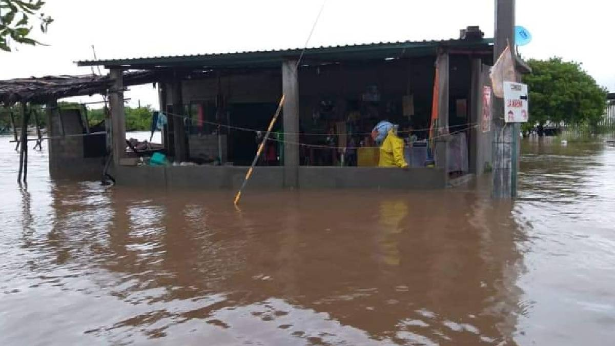 Oaxaca: Lluvias dejan al menos 7 mil damnificados en Juchitán
