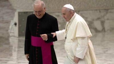 El Papa Francisco reveló que no pensó renunciar, desmintiendo así rumores al respecto. Foto: AFP