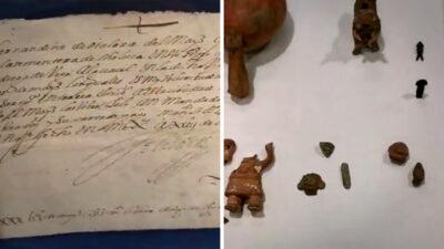 Carta de Hernán Cortés es recuperada; estaba en NY, en casa de subastas