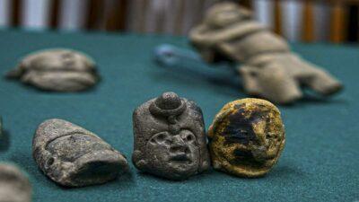 Secretaría de Cultura y el INAH interponen denuncia por venta de piezas arqueológicas en subasta