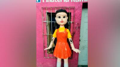 El Juego del Calamar: Crean piñata de la popular serie de Netflix