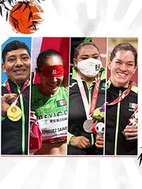 Ellos son los mexicanos que hicieron historia en los Paralímpicos