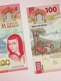 El billete más bonito del mundo es mexicano