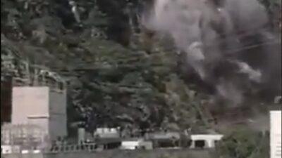 Presa Zimapán: Captan desgaje de cerro y se viraliza en redes