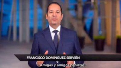 No competiré por CEN del PAN: Francisco Domínguez