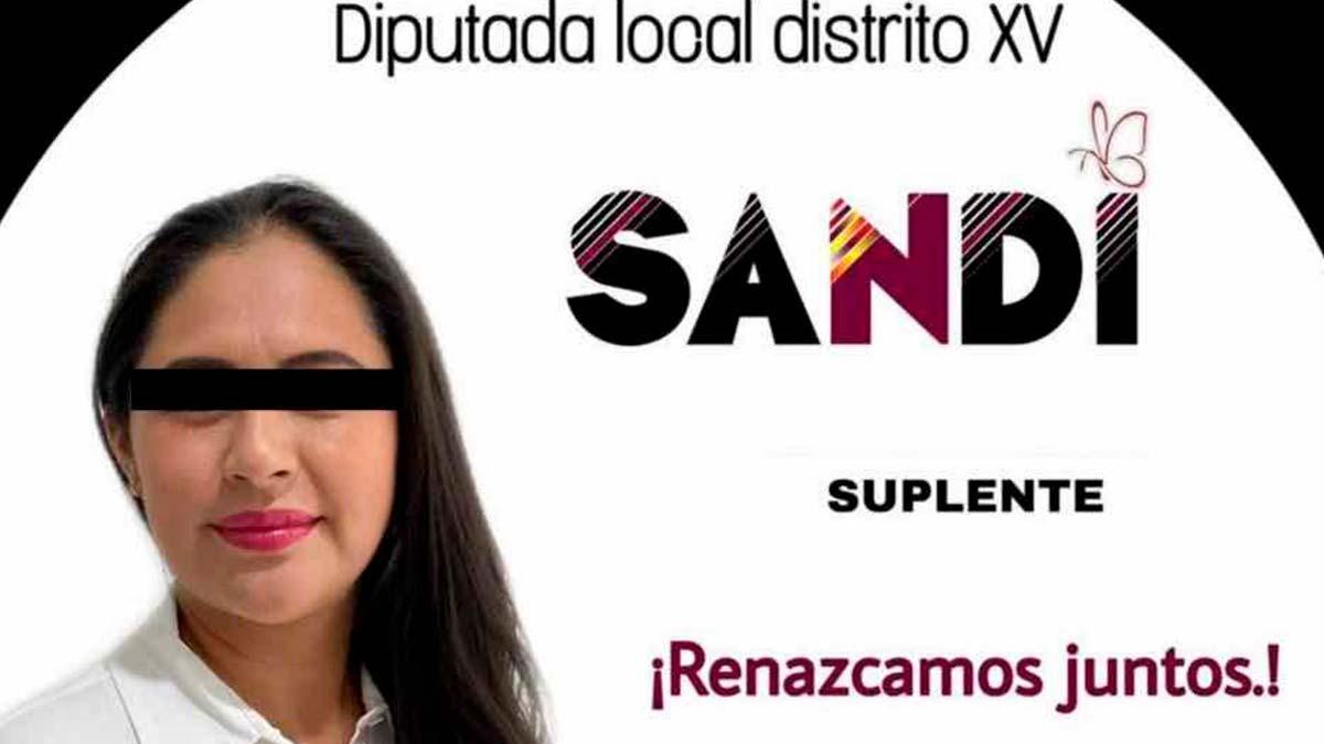 Puebla: detienen a diputada Sandra Cadena; le hallan arsenal