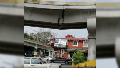 Morelos: distribuidor vial Emiliano Zapata necesita reparación