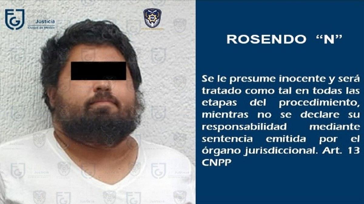 Rosendo Gómez, abogado de Miss Moni, del Colegio Rébsamen, es detenido en CDMX