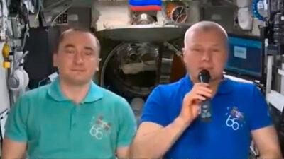 Cosmonautas rusos mandan mensaje a México por independencia