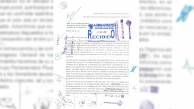 Grupo Parlamentario Plural pide reconocimiento a la Jucopo