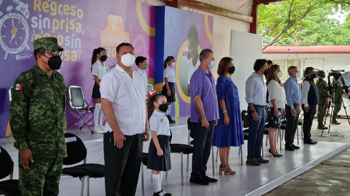 Sinaloa: Tras paso de Nora, estudiantes vuelven a clases presenciales