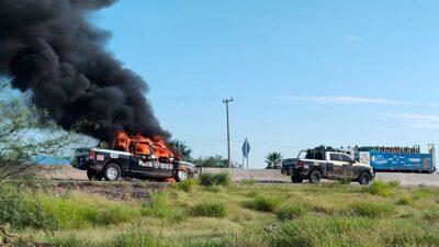 Sonora: Balacera en Pitiquito, neutralizan a grupo armado