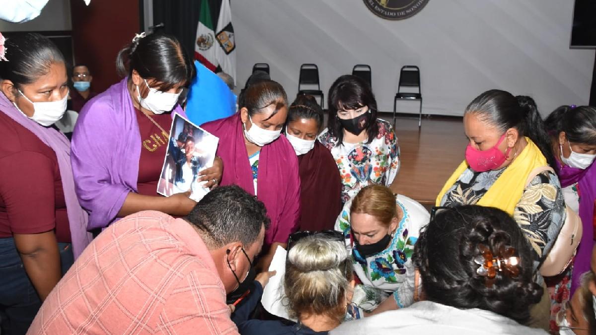 Sonora: Familiares identifican objetos de yaquis desaparecidos