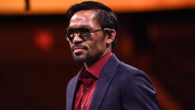 Manny Pacquiao anuncia su retiro del boxeo; buscará ser presidente