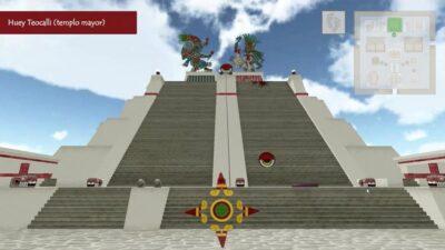Tenochtitlan: UNAM crea recorrido virtual de la ciudad