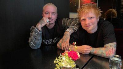 J Balvin junto a Ed Sheeran
