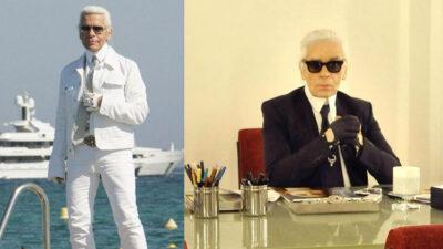 Karl Lagerfeld, quien fue el diseñador de Channel que insultó a Adele