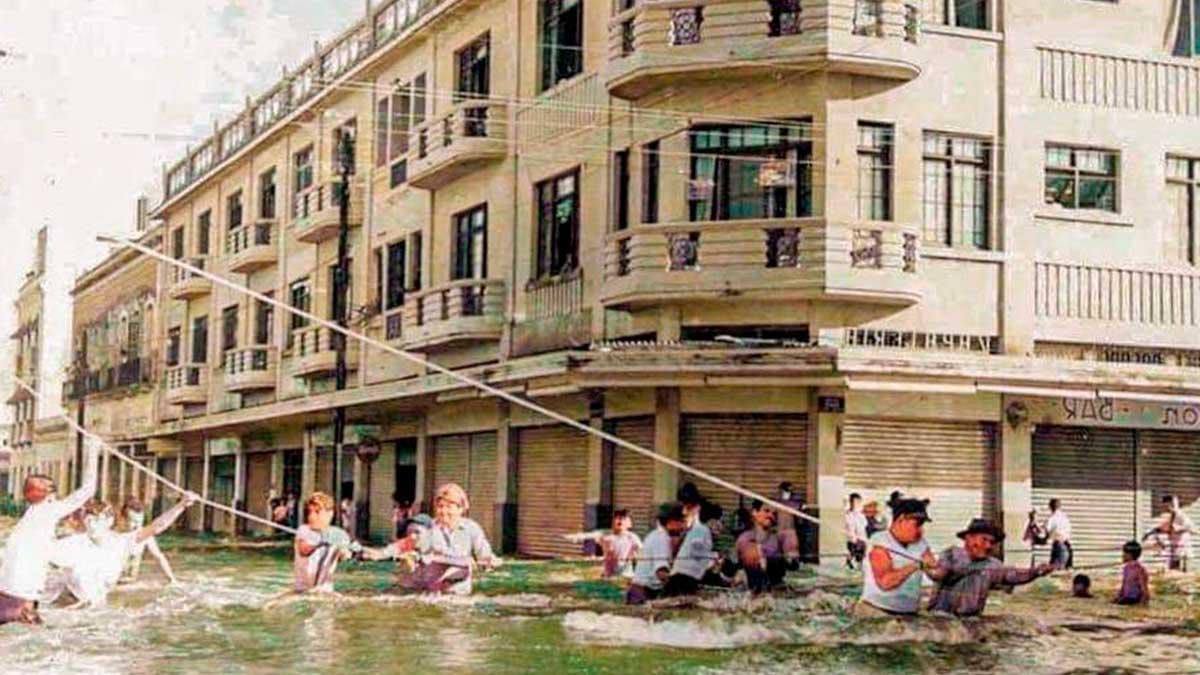 Tamaulipas: tras huracán Hilda en 1955 se inunda Tampico