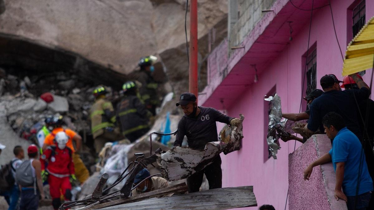 Cerro del Chiquihuite: Tlalnepantla habilitan albergues, tras derrumbe