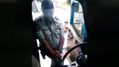 Tlaxcala: Agente de Guardia Nacional extorsiona a trailero en Calpulalpan
