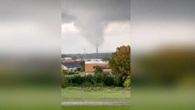 Tornado azota en ciudad portuaria de Kiel, Alemania