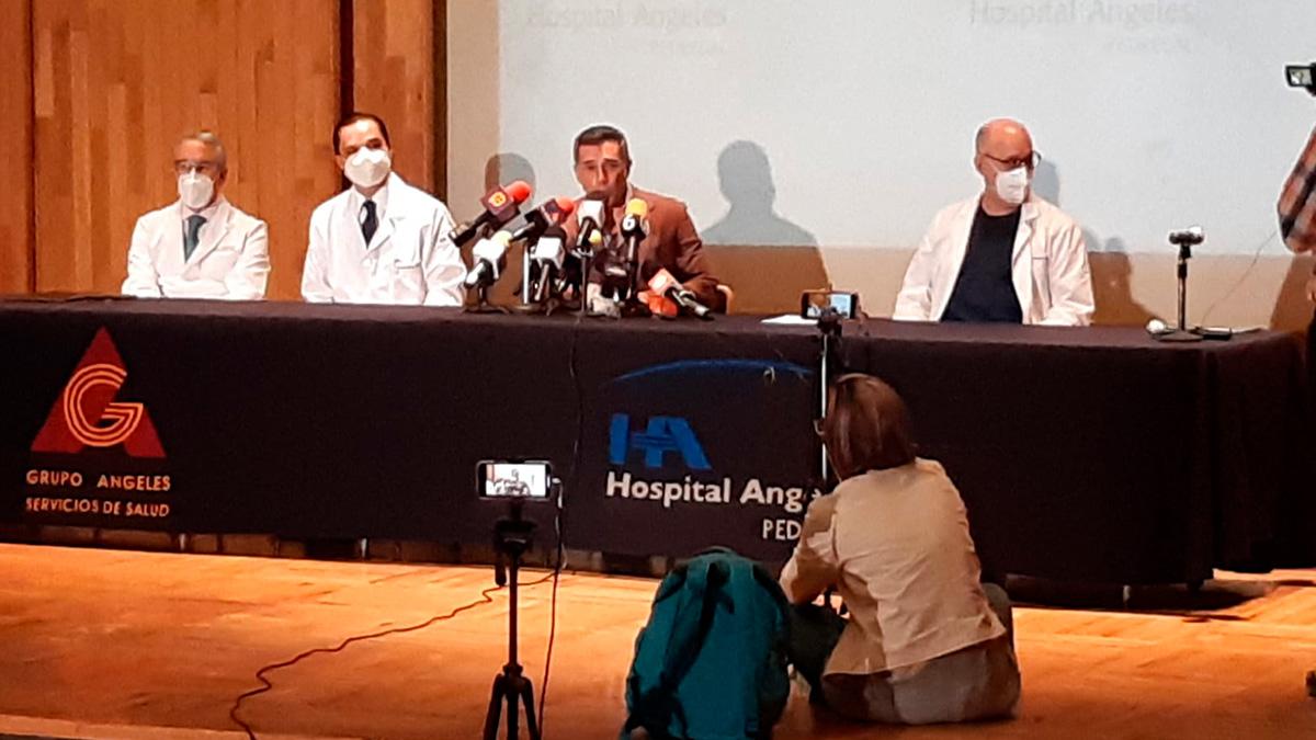 Sergio Mayer sale del hospital; esto dijo sobre su salud