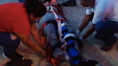 Veracruz: Fuerte choque en Las Choapas, mueren joven y migrante haitiano