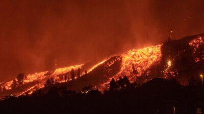 Canarias: ¿Qué pasa si la lava del volcán Cumbre Vieja llega al mar?