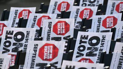 California, Estados Unidos, decidirá en referendo la permanecía del gobernador Gavin Newsom