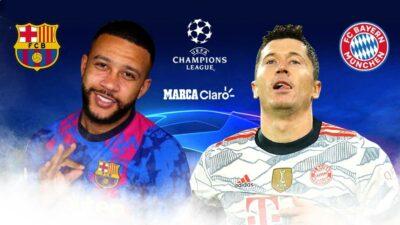Barcelona vs Bayern Munich, en vivo